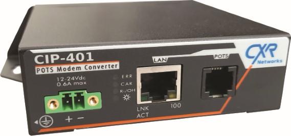 CIP-401 convertisseur modem RTC sur IP