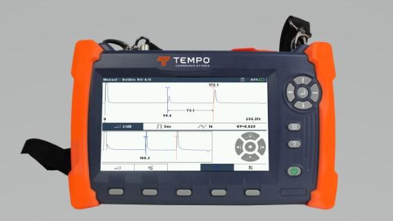 CS90 mesure TDR pour cable coax