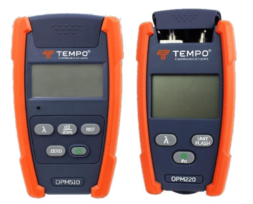 photomètre optique OPM510 OPM520