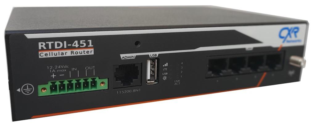 RTDI-451 routeur 4G/LTE securisé
