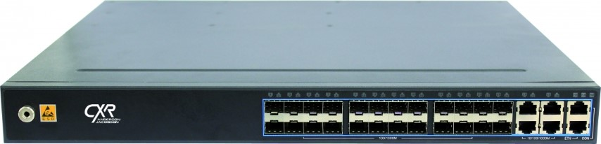 Laryer 3 10 Gigabit Carrier Ethernet switch