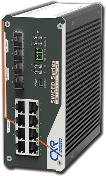 SWCED switch 10 Gigabit Ethernet endurci
