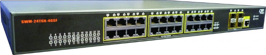 Switch 28 ports Gigabit Ethernet