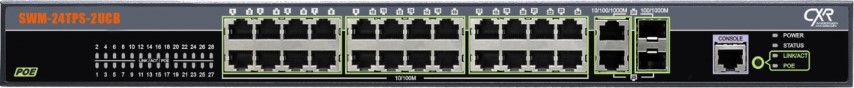 Gigabit Ethernet switch 24 ports POE
