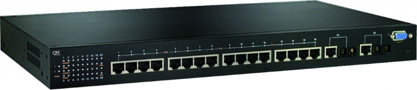 Ruggedized Gigabit Ethernet switch POE