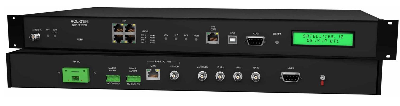 VCL-2156 serveur NTP PTP
