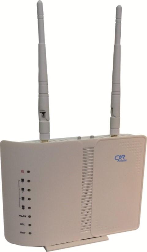 VDSL modem router